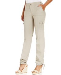 Styleandco. Style And Co. Convertible Cargo Pants Summer Straw