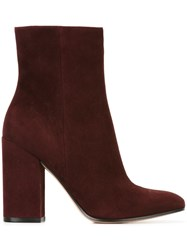 Gianvito Rossi 'Rolling High' Boots Red