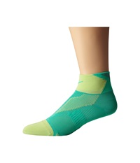 Nike Elite Run Lightweight Quarter Menta Key Lime Menta Quarter Length Socks Shoes Green