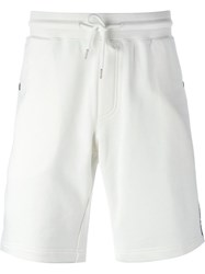 Moncler Piped Track Shorts White