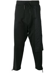 Y 3 Lateral Pocket Drawstring Trousers Black