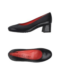 Pas De Rouge Pumps Black