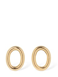 Isabel Lennse Chunky Hoop Earrings Gold