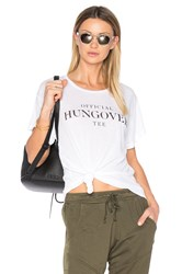 Wildfox Couture Hangover Tee White