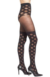 Pretty Polly Women's Crisscross Faux Over The Knee Tights
