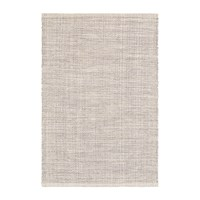 Dash And Albert Marled Woven Cotton Rug Grey Grey Cream