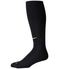 Nike Classic Ii Cushion Over The Calf Socks Black Volt Knee High Socks Shoes