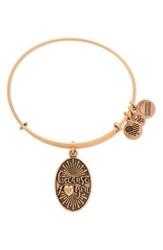 Alex And Ani Women's 'Because I Love You' Adjustable Wire Bangle