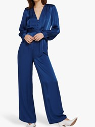 Ghost Poppy Jumpsuit Airforce Blue