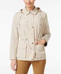 Charter Club Hooded Anorak Jacket Only At Macy's Sand