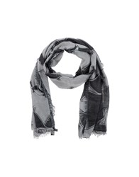 Kris Van Assche Krisvanassche Accessories Oblong Scarves Men Grey