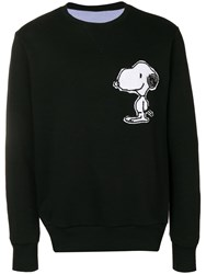 Lc23 Scoopy Patch Sweatshirt Black
