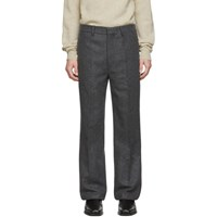 Christophe Lemaire Grey Wool Felt Trousers