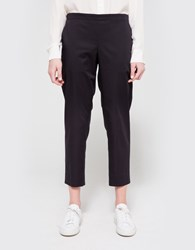 6397 Cotton Pull On Trouser Navy