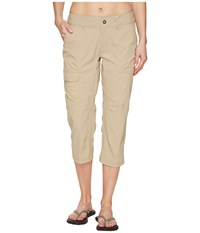 Columbia Silver Ridge Stretch Capri Pants British Tan Women's Capri
