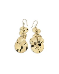 Ippolita 18K Gold Glamazon Spotlight Coin Earrings
