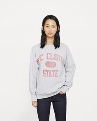 Re Done Champion Oversized Crewneck Sweatshirt