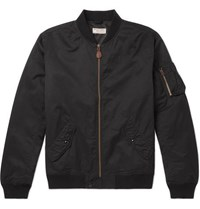 J.Crew Shell Bomber Jacket Black