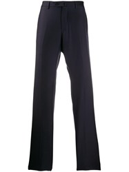 Caruso Slim Fit Trousers Blue