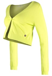 Noppies Leony Cardigan Celery Neon Green