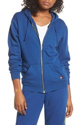 Aviator Nation Bolt Zip Hoodie Royal Blue