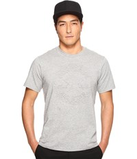 Converse Embossed Chuck Patch Tee Vintage Grey Heather Men's T Shirt Gray