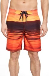 Surfside Supply Red Sea Photo Real Board Shorts Mars Red