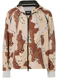 Christopher Raeburn Choc Chip Print Jacket Brown