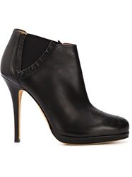 Alexa Wagner 'Eugenie' Booties Black