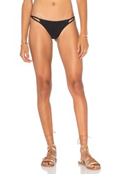 Cami And Jax Bo Bikini Bottom Black