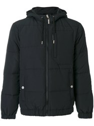 Versace Jeans Classic Padded Jacket Feather Down Polyamide Polyester Black