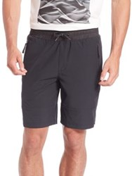 Madison Supply Woven Elasticized Shorts Caviar