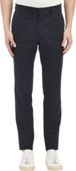 Todd Snyder Pin Dot Jacquard Trousers Black