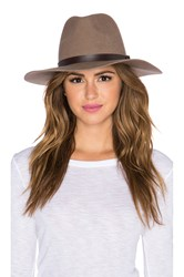 Michael Stars Oh My Darling Floppy Hat Brown