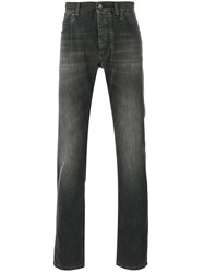 Dolce And Gabbana Straight Leg Jeans Men Cotton 48 Black