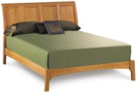 Copeland Furniture Sarah Sleigh 45 Inch Bed With Headboard And Low Footboard