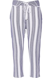 Finds Brooke Striped Cotton Tapered Pants