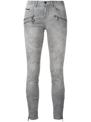 Calvin Klein Jeans Super Skinny Cropped Grey