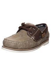 Tom Tailor Boat Shoes Mud Grey