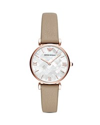 Emporio Armani Ladies' Watch 32Mm X 41Mm White Beige