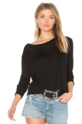 Rails Lara Long Sleeve Top Black