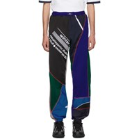 Ahluwalia Studio Multicolor Over Stitch Patchwork Jogger Lounge Pants