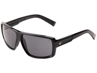 Dragon Alliance Double Dos Jet Grey P2 Sport Sunglasses Black