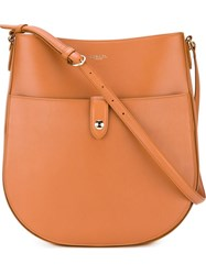 Nina Ricci Medium Saddle Bag Brown