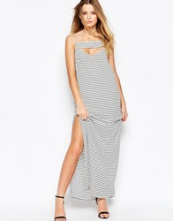 Finders Keepers Underground Kings Striped Maxi Dress Stripe Multi