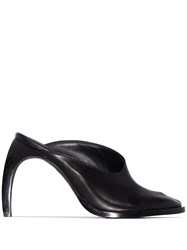 Ann Demeulemeester Leather Mules Black