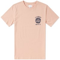 Gant Literary Rebels Tee Pink
