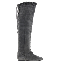 Park Lane Over The Knee Boots Grey