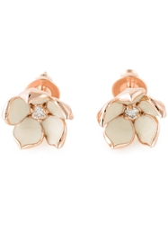 Shaun Leane 'Cherry Blossom' Diamond Earrings Metallic