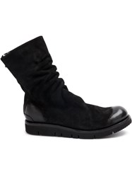 The Last Conspiracy Back Zip Boots Black